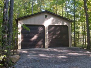 Knepp Buildings Constructed This Post-Frame Garage